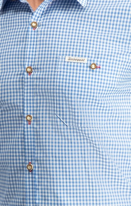 Trachtenhemd Dave in blau