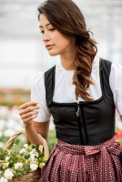 Preview: Dirndl Zaina bordeaux