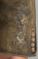 Vorschau: Lederhose Thomas in stein