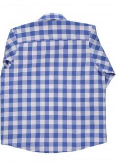 Kinderhemd Ederl blau