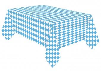 Paper Tablecloth Blue White 1.15 x 1.75m