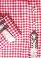 Vorschau: Trachtenhemd Khal rot