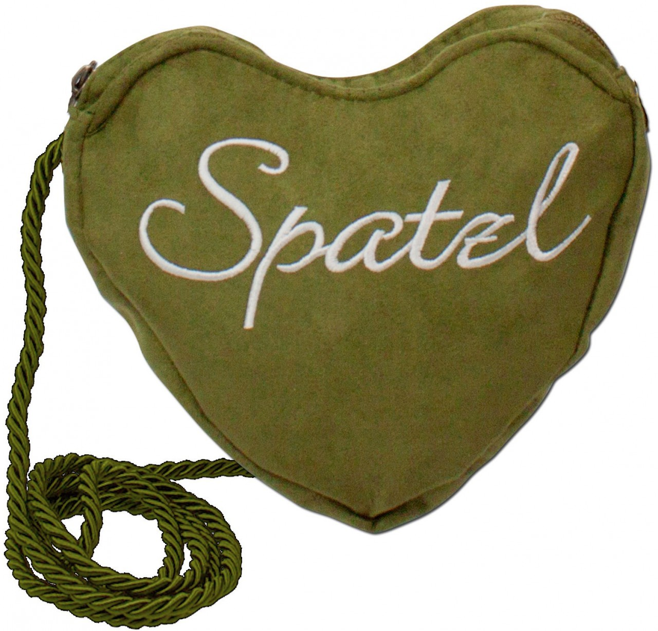 Dirndl-Herztasche Spatzl grün