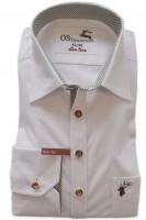Vorschau: Trachtenhemd Petyr weiß