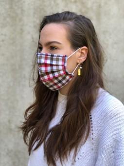 Mund-Nasen-Maske Clara rot