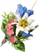 Vorschau: Trachtenbrosche Alpenblümchen