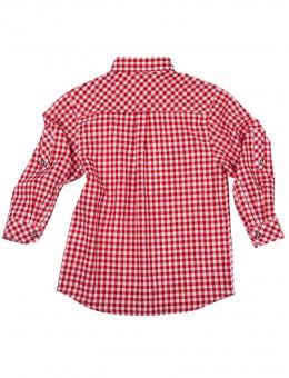 Kinderhemd Köppingen Karo rot