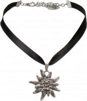 Preview: Satin Necklace Marlene, Black