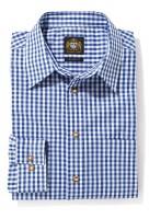Vorschau: Herrenhemd blau karo
